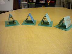 Tent Craft For Preschoolers