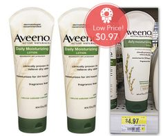 Aveeno Daily Moisturizing Lotion only $.97 at Walmart after Coupon and Checkout 51 Offer! - http://www.couponaholic.net/2014/12/aveeno-daily-moisturizing-lotion-only-97-at-walmart-after-coupon-and-checkout-51-offer/