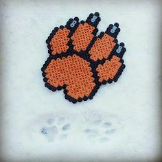 Cat & Dog Paw Print - Perler Hama Beads - Beadsmeetgeeks