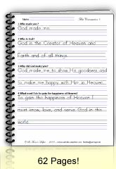 St Anne's Helper Baltimore Catechism copybook pages ebook download