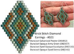 Crafts, beading, greeting cards, digital graphics, tutorials and more. Seed Bead Jewelry, Seed Bead Earrings, Beaded Jewelry, Diamond Earrings, Seed Beads, Diy Jewelry, Handmade Jewelry, Beaded Bracelets, Hoop Earrings