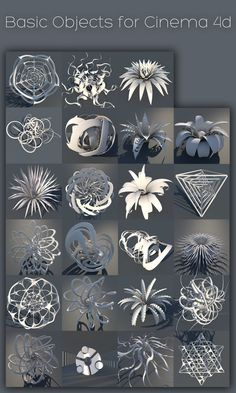 Basic Objects for c4d (r13) by xylomon on deviantART