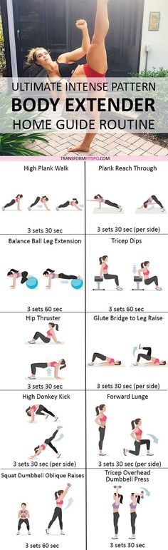Repin and share if this workout completely transformed your body! Read the post for all the information!