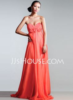 Shopping for the marine ball!!Evening Dresses - $115.99 - Empire Sweetheart Court Train Chiffon  Charmeuse Evening Dresses With Ruffle (017002563) http://jjshouse.com/Empire-Sweetheart-Court-Train-Chiffon--Charmeuse-Evening-Dresses-With-Ruffle-017002563-g2563