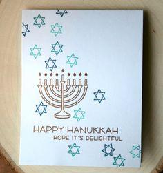Hanukkah Card by Jess Gerstner featuring Lawn Fawn Love You a Latke hanukkahcards Feliz Hanukkah, Hanukkah Crafts, Christmas Hanukkah, Hannukah, Happy Hanukkah, Jewish Crafts, Hanukkah Traditions, Jewish Celebrations, Christmas Card Packs