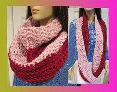 Funky Handmade Scarf  Wool Infinity Scarf MANY by ArtisticFunk, $25.00