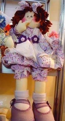 Mimin Dolls: Boneca sorridente