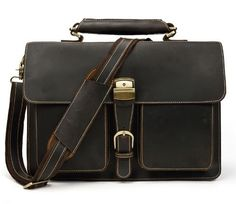 Providing real leather briefcases, bags, backpacks, and other leather goods to the business professional. Our leather bags bring the confidence and style needed in the modern business world. Black Leather Backpack, Cow Leather, Real Leather, Briefcase For Men, Leather Briefcase, Bags Online Shopping, Online Bags, Modern Gentleman, Luxury Bags