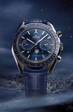 Omega: Speedmaster Moonphase Chronograph Master Chronometer » Das Uhren Portal: Watchtime.net | juwelier-haeger.de