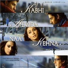 Kabhi Alvida Naa Kehna Bollywood CD Click on the cover to place a hold at Otis Library.