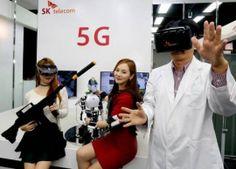 Южнокорейский оператор мобильной связи создает первую в мире сеть 5G..