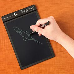 Etch-A-Sketch meets modern technology: The Boogie Board LCD Tablet