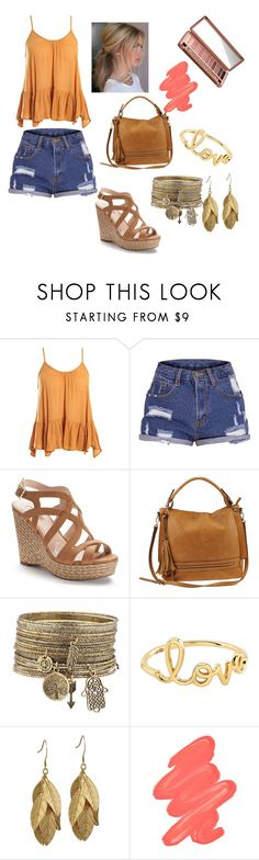 """""""Untitled #22"""" by kaylab0805 ❤ liked on Polyvore featuring Sans Souci, Jennifer Lopez, Urban Expressions, Sydney Evan, Obsessive Compulsive Cosmetics and Urban Decay"""