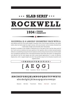 Type Classification Posters by Cedrik Ferrer, via Behance