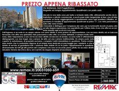 PREZZO APPENA RIBASSATO Via Matarrese 20/a, Bari – Poggiofranco Elegante ed Ampio Appartamento Quadrivani con posto auto doppio www.remax.it/20031050-659 info 348 7340665