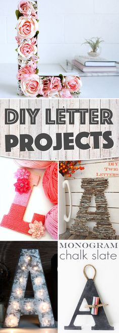 24 Awe-Inspiring DIY Letter Projects Pulling Off A Love-Worthy Decor For Your Space