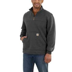 Carhartt  Carbon Heather  - front  XL