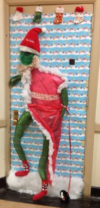 1000 Images About Christmas Doors On Pinterest