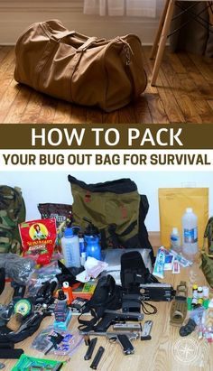 How to Pack Your Bug out Bag for Survival - Furthermore, you do not want a heavy bug our bag that will slow you down. In case you organize such contents in a haphazard manner, your B.O.B might imbalance. This can interfere with your posture resulting in muscle fatigue. #bugout #bugoutbag #shtf #preparedness #prepping