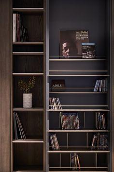 Shelving Design, Bookshelf Design, Luxury Interior, Interior Architecture, Home Office, Modern Bookcase, Rack Design, Cabinet Design, Interior Design Inspiration