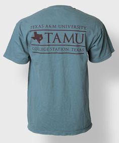 Texas A&M University T-shirt. #AggieStyle #AggieGifts