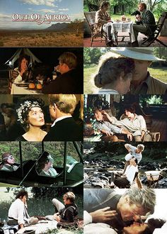 """Out of Africa'"" starring Meryl Streep & Robert Redford"