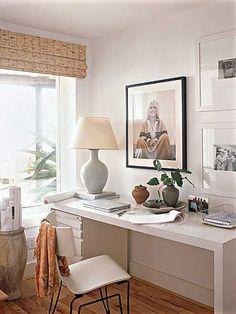 Hervorragend ... Heimbüro, Schlafzimmer, Ideen, Tisch Layout, Schreibtische,  Arbeitsbereiche, Home Office, Studio, Büros, Kommandozentralen, Kleiner  Schreibtisch ...