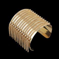 Stylish Link Tassel Design Bracelet For Women