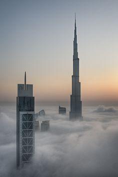 Foggy sunrise in Dubai #5 | Dubai | Momentary Awe | Travel photography blog