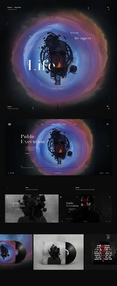 Team Named Artwork Website - Behance #ui #ux #userexperience #website #webdesign #design #minimal #minimalism #art