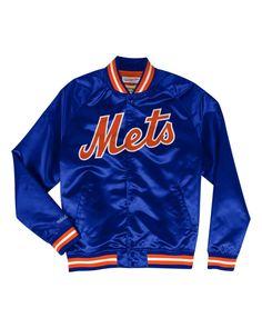 79f8864f4 Lightweight Satin Jacket New York Mets