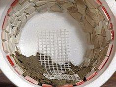 Crea tus propias macetas con concreto - Taringa!