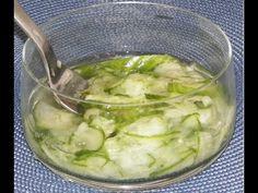 How to make an Easy and Tasty Danish Cucumber Salad - Agurksalat - YouTube