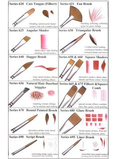 paint brushes to use