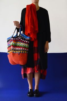 Diy Crochet And Knitting, Crochet Woman, Baby Knitting, Hand Crochet, Crochet Handbags, Crochet Purses, Women's Fashion Leggings, Art Bag, Patchwork Bags