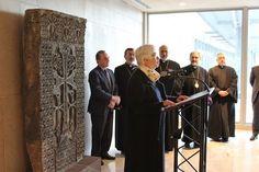 El 15 de abril, se celebró en la sede de la ONU en Nueva York la instalación oficial y bendición de un khatchkar, regalo del Gobierno de Armenia ante las Naciones Unidas.