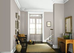 Light French Gray - One of the best blue/gray paint colors. Light French Gray - One of the best blue/gray paint colors. Paint Colors For Living Room, Living Room Colors, Living Room Grey, Living Room Decor, Dining Room, Bedroom Decor, Living Walls, Grey Room, Bedroom Loft