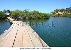 Baracoa, Cuba - Rio Miel Bridge, Part Of Alejandro De Humboldt National Park Stock Photo 85689946 : Shutterstock