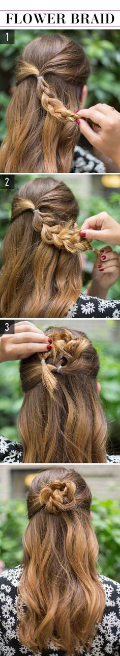Light hair - Hair Styles For School Lazy Girl Hairstyles, Super Easy Hairstyles, Easy Hairstyles For School, Step By Step Hairstyles, Trendy Hairstyles, Wedding Hairstyles, Bun Hairstyles, Everyday Hairstyles, Long Haircuts