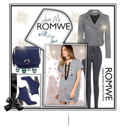 """""""ROMWE"""" by sabahetasaric ❤ liked on Polyvore featuring IRO, Topshop and GUESS"""