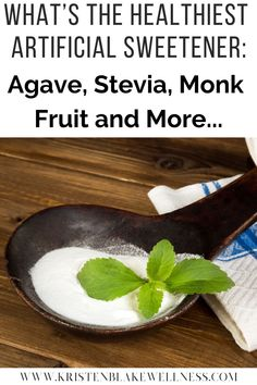 Everyone knows sugar isn't good for them, but are artificial sweeteners safe? The sugar replacements on the market can feel incredibly confusing. And marketing tactics just make matters worse! Are you confused over which is best? Stevia? Monk fruit? Xylitol? Erythritol? Aspartame? Agave? And More?? You're not alone. There are pros and cons to each and every one of these, and the one that's best for YOU may not be the one that is best for someone else. #Sweeteners #Stevia #SugarFree #Agave #Monk Health And Wellness, Health Fitness, Health Tips, Womens Health Care, Marketing Tactics, Healthy Eating Tips, Natural Living, Stevia, Healthy Choices
