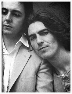 Paul and George... Love them both... I hate to say it but I'm obsessed