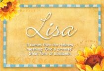name lisa on different things - Google Search