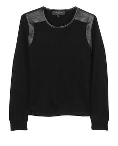 rag & bone Official Store, Brynn Pullover , black fl, Womens : Ready to Wear : Sweaters : Wool, W2366160X