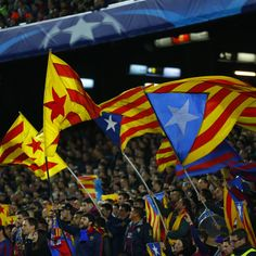 Barcelona fans will be permitted to wave Estelada flags during the Copa del Rey final at Vicente Calderon on Sunday...
