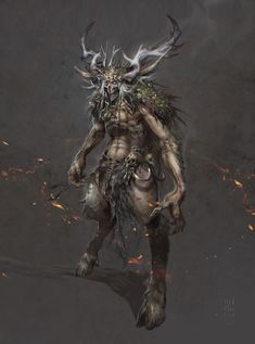 Bies - Alzur's Legacy - a Witcher Fan Film by Iwo Widuliński Medieval, Dark Evil, Mythological Creatures, Dnd Characters, Dark Art, Mythology, Fantasy Art, Concept Art, Lion Sculpture