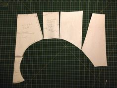 Making a High waisted 'brief' pattern