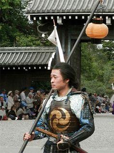 Jidai-Matsuri (Jidai-festival)in Kyoto Japan.   Bakumatsu era samurai costume. Kusaka Genkai.