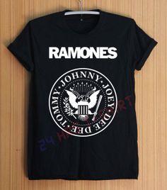 The Ramones Shirt Music Shirts T Shirt TShirt by 24hrsTShirt, $17.50