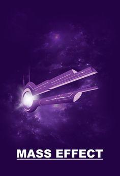 Mass Effect Minimalist Poster